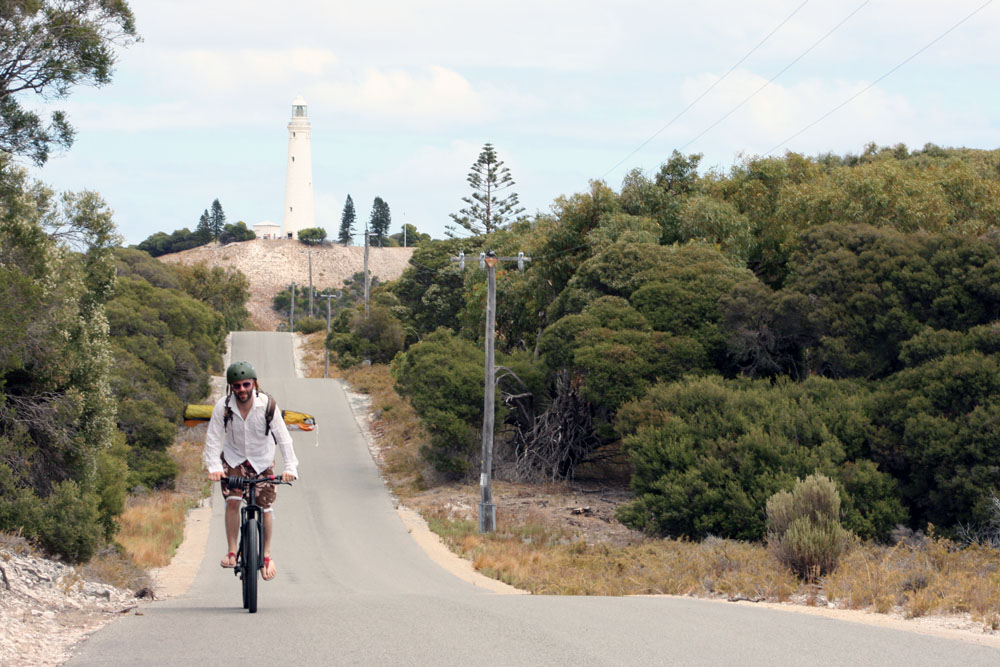 Cycling Rottnest