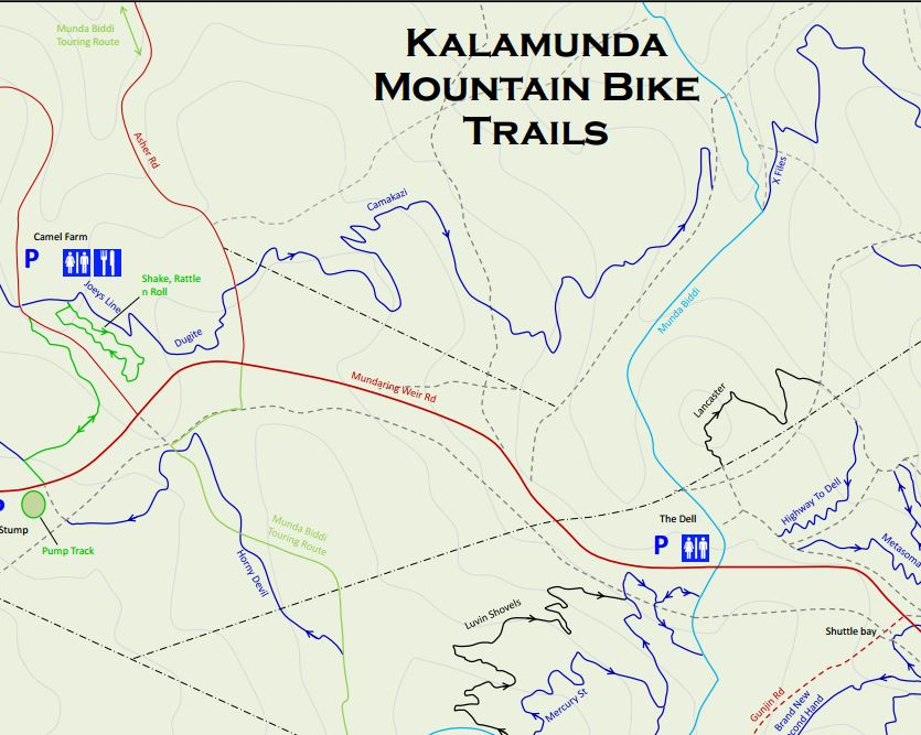 trails Kalamunda